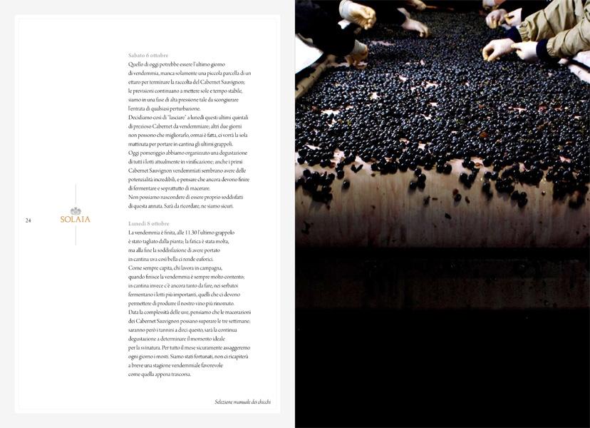 Antinori book vendemmia 2007-14